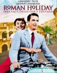 Roman Holiday met Audrey Hepburn en Gregory Peck.