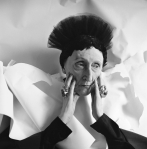 De oudere Edith Sitwell